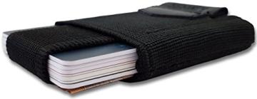 Mini Geldbörse Portemonnaie Slim Wallet Rfid Nfc Schutz